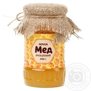Honey Novus Natural acacia 450g