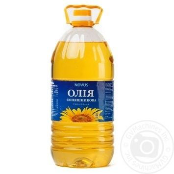 Oil Novus sunflower refined 3000ml