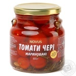 Vegetables tomato cherry tomatoes Novus pickled 600g glass jar