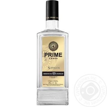 Водка Prime Superior 40% 700мл