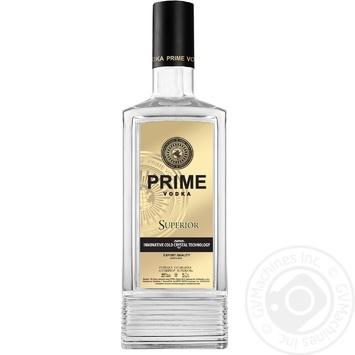Горілка Prime Superior 40% 700мл - купити, ціни на ЕКО Маркет - фото 1