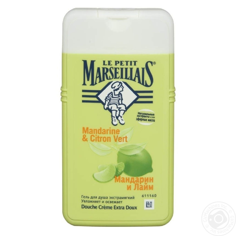Gel le petit marseillais tangerine for shower 250ml for Gel a depolir le verre