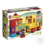 Конструктор LEGO DUPLO Classic Мій перший автобус 10603