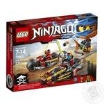 Конструктор LEGO Ninjago Гонитва на ніндзяциклах 70600