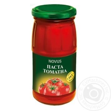 Паста томатная Novus 25% 480г - купить, цены на Novus - фото 1