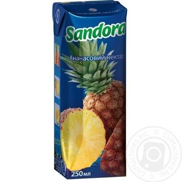 Сок Сандора ананас 250мл