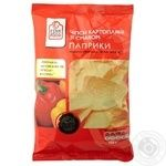 Chips Fine food potato with paprika 150g Ukraine
