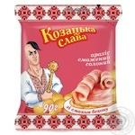 Snack peanuts Kozatska slava with bacon salt 90g Ukraine