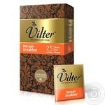 Чай чорний VILTER Kenyam breakfast в пакетиках 25х2г - купити, ціни на Novus - фото 1