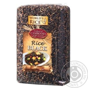 Рис World`s Rice черный 500г - купить, цены на Novus - фото 1