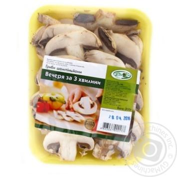 Гриби Печериці Дінбо Вечеря за 3 хвилини 200г - купити, ціни на Метро - фото 1