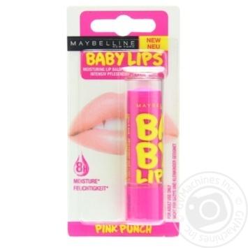 Бальзам для губ Maybelline New York Baby Lips Розовый пунш 4,4г