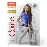 Колготки Conte дитячі поліамідні Anita розмір 158-164 bianco