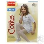 Колготки Conte дитячі нарядні Millie розмір 140-146 bianco