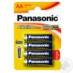 Panasonic Battery LR6 Alkaline Power AA 4pcs - buy, prices for EKO Market - photo 2