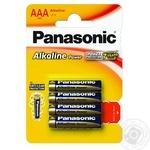 Батарейки Panasonic LR03 Alkaline Power ААА 4шт - купити, ціни на CітіМаркет - фото 2