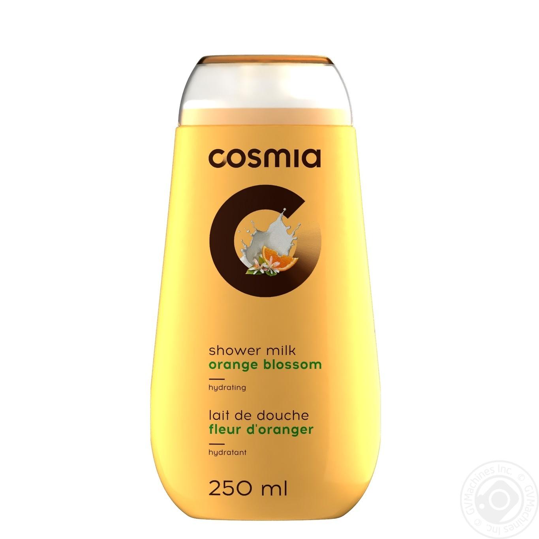 Gel Auchan Cosmia Orange For Shower 250ml Hygiene Care Body