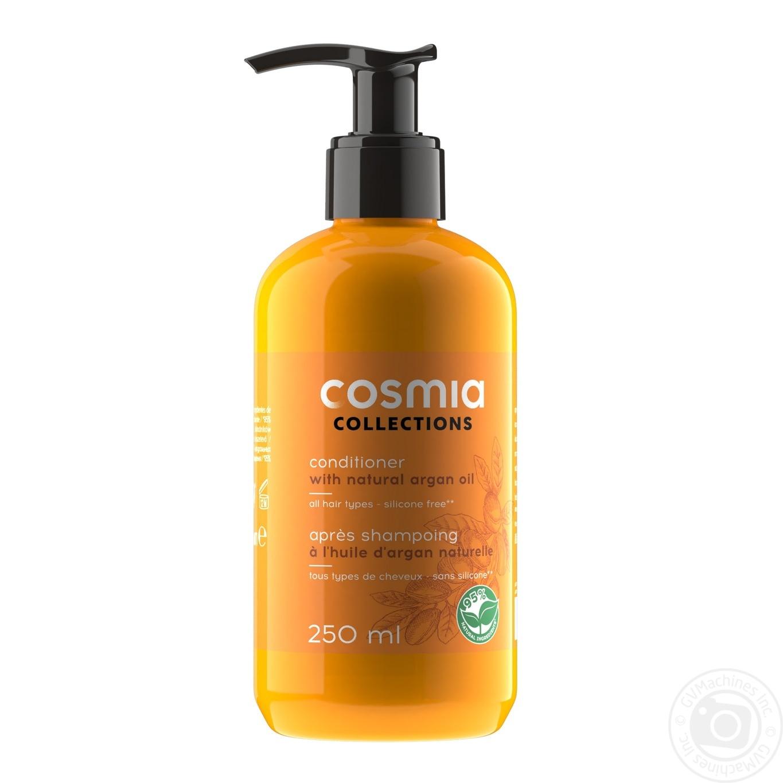 Conditioner Auchan Cosmia With Argan Oil For Hair 250ml Hygiene