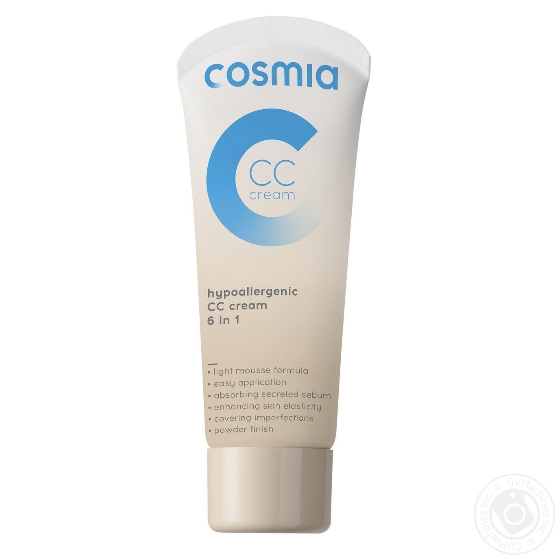 Cream Cosmia Auchan For Face Hygiene Care Skincare Skin
