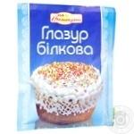 Glaze Kviten proteinic for baking 85g Ukraine