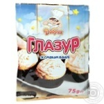 Glaze Dobryk with vanilla white for baking 1pc 75g - buy, prices for Auchan - image 2