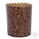 Паперова форма для випічки 70*80/100г, Добрик