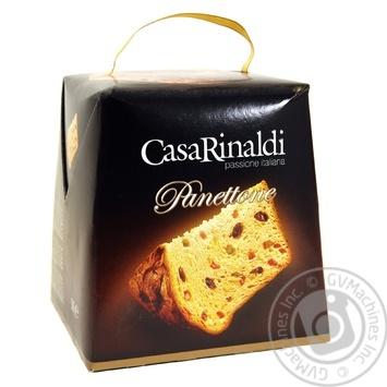 Панеттоне Casa Rinaldi с цукатами и изюмом 500г - купить, цены на Novus - фото 1