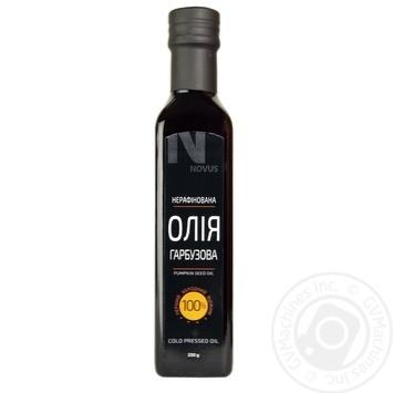 Олія з насіння гарбуза NOVUS 250мл