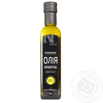 Oil Novus sesame 250ml glass bottle