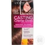 Краска-уход для волос L'Oreal Casting Creme Gloss 415 Морозный каштан без аммиака