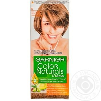 Краска для волос Garnier Color Naturals Creme с 3-мя маслами №6 Лесной орех