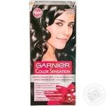Color Garnier Sensation black for hair