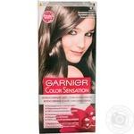 Color Garnier Sensation chestnut for hair
