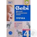 Каша Bebi безмолочная гречка 200г