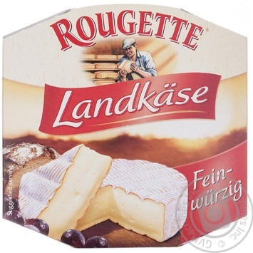 Landkaase soft cheese with red cultures Rougette 65% 180g Germany