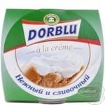 Сырный продукт Казерай Шампиньон Дор Блю а ля крем мягкий пастеризованный с голубой плесенью 16% 80г Германия