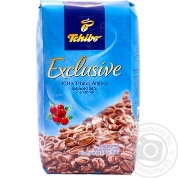 Кофе Чибо Эксклюзив 100% арабика натуральный среднеобжаренный в зернах 250г Германия