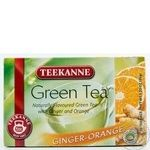 Чай Тикане зеленый с апельсином и имбирем в пакетиках 20х1.75г Германия