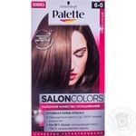 Крем-фарба Palette Salon Colors 6-0 Темно-русявий