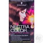 Фарба для волосся Nectra Color 668 Лісовий горіх