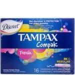 Tampons Tampax Compak Fresh regular 16pcs