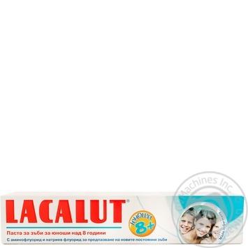 Зубна паста Lacalut підліткам 8+ 50мл