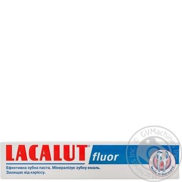Зубна паста Lacalut Фтор 75мл