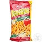 Чипсы Лоренц Помстикс картофельные с паприкой соломкой 100г Германия
