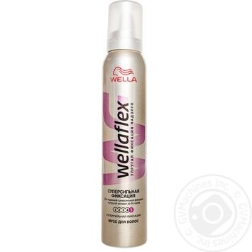 Wellaflex Foam super strong hair fixation 200ml