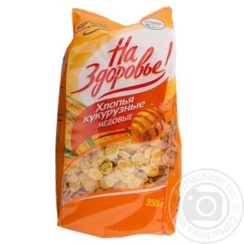 Kuntsevo Na Zdorov'ya Honey Corn Flakes