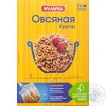 Крупа Ярмарка овсяная в пакетиках 400г Россия
