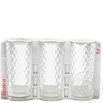 Набор стаканов Classico 200мл 6шт - купить, цены на Novus - фото 1