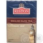 Черно-зеленый чай Ристон ФБОП листовой 200г Шри-Ланка
