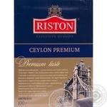 Чай Ристон Английский крупнолистовой черный 100г